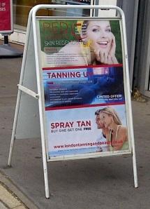 spray tan crop