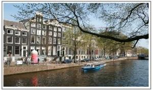 Amsterdam framed