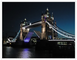 Tower bridge framed