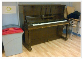 unloved school piano