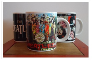 Beatles mugs