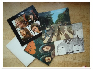 Beatles vinyls