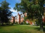Part of Newnham College gardens