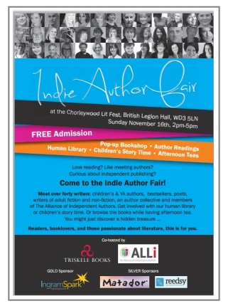 Indie Author Fair 2014