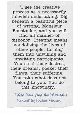 Quote from Khaled Hosseini