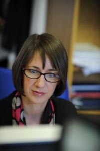 Jane Davis at work