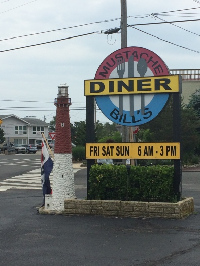 Mustache Bill's diner, Barnegat Light
