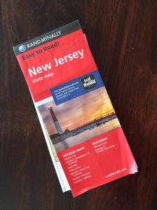 Rand McNally map NJ