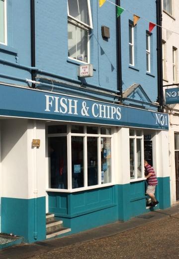 No 1 Fish and Chips, Cromer