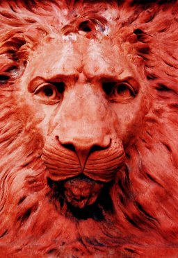 Red lion by Matthew Strickland