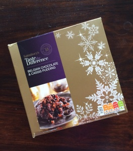 Sainsbury's Christmas pudding