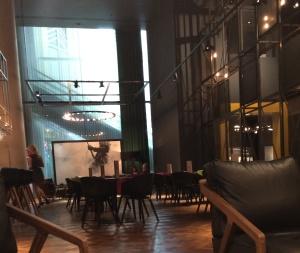 VIP lounge at O2