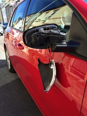 VW Golf wing mirror