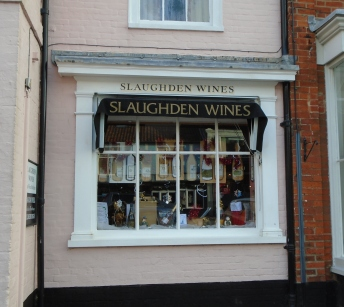 Wine shop, Suffolk