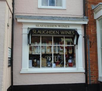 Wine shop, Suffolk