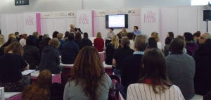 Audience at Author HQ, LBF16