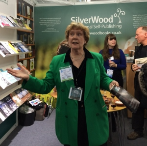 Alison Morton launching Insurrectio at LBF16