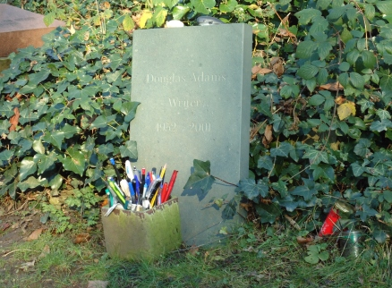 Douglas Adams, Highgate Cemetery