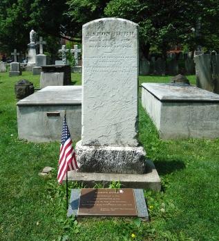 Aaron Burr, Princeton Cemetery