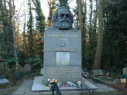 Karl Marx, Highgate Cemetery