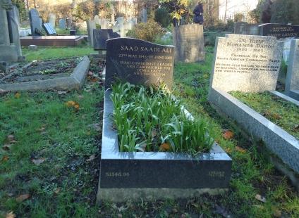 Saad Saadi Ali, Highgate Cemetery