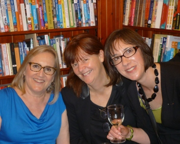 Fron L to R: me, Orna Roass, Jane Davis