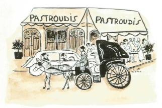Pastroudis in Alexandria