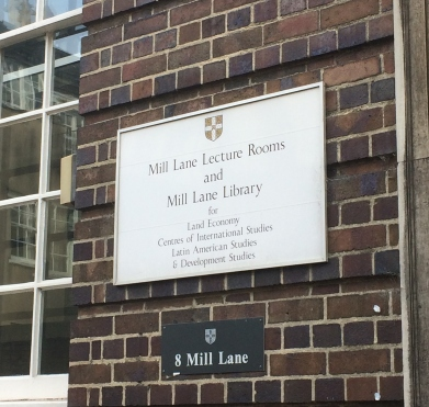 Mill Lane lecture rooms, Uni of Canbridge