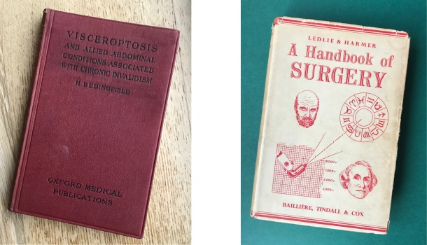 two old medical books