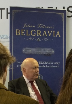 Julian Fellowes at LBF